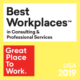 Torch Named One of the Country's Best Workplaces in Consulting & Professional Services for Fourth Consecutive Year