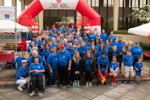Torch Team Raises $63K for 2019 Huntsville Heart and Stroke Walk