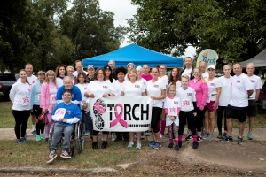 Torch Supports 2019 Liz Hurley Ribbon Run