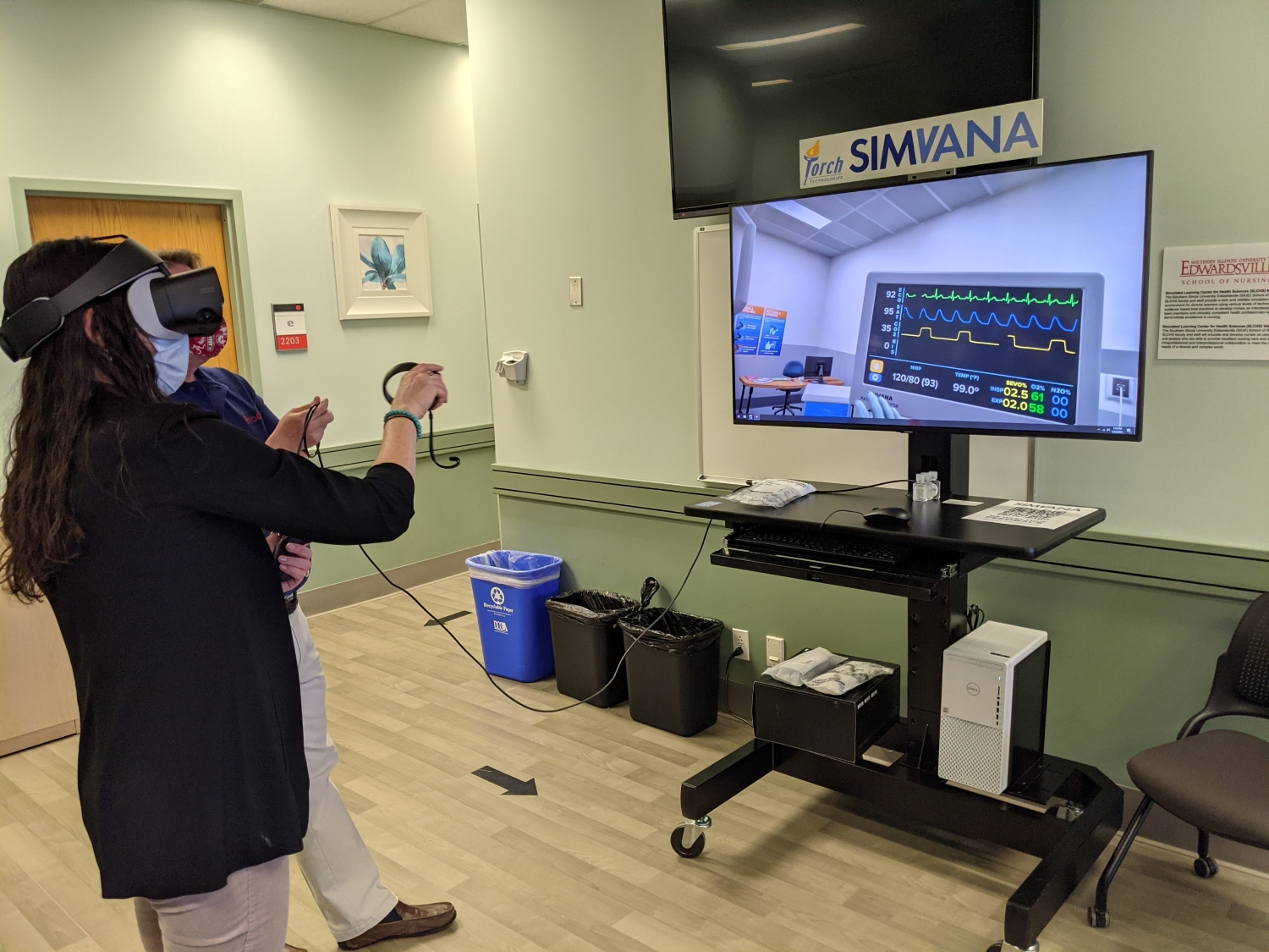 SIMVANA Install and Demo at Southern Illinois University Edwardsville